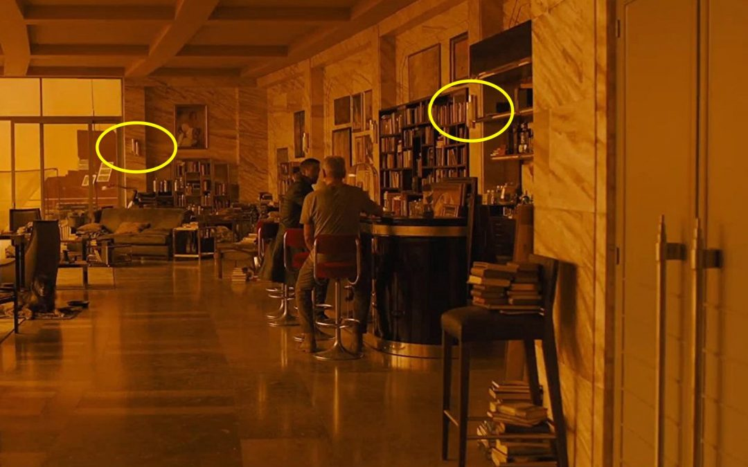 Sconces by Cadmium on the set of Blade Runner 2049