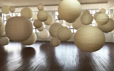 Isamu Noguchi's Akari Light Sculptures