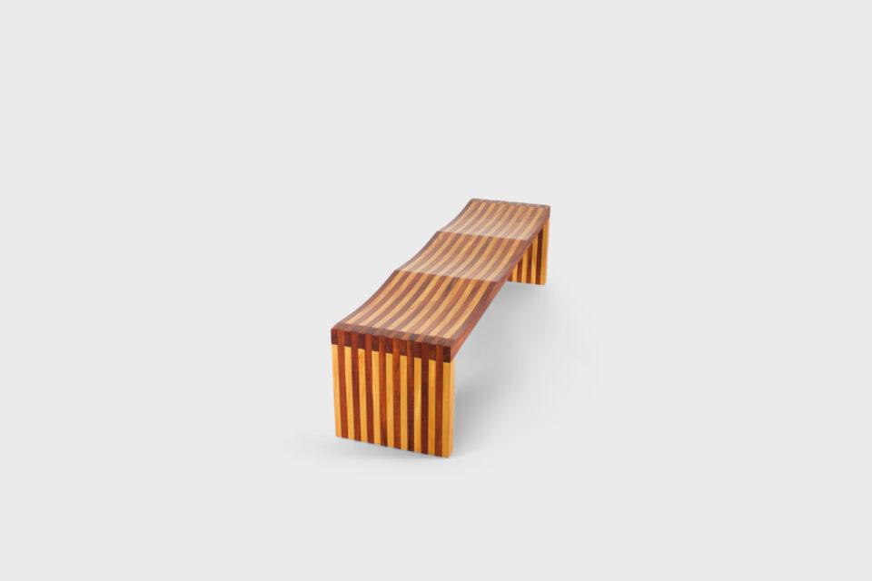'Ressaquinha' Bench by Mauricio Azeredo, Brazil
